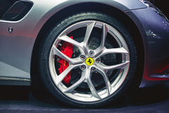 2017 Ferrari GTC4 Lusso T Stock Foto's