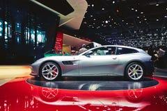 Ferrari 2017 GTC4 Lusso T Fotografering för Bildbyråer