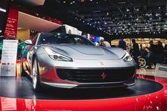 2017 Ferrari GTC4 Lusso T Stock Fotografie