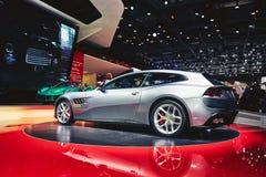 2017 Ferrari GTC4 Lusso T Royalty Free Stock Photos