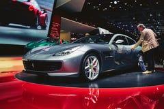 2017 Ferrari GTC4 Lusso T Stock Image