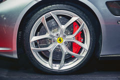 2017 Ferrari GTC4 Lusso T Stock Images