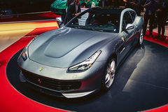 2017 Ferrari GTC4 Lusso T Royalty Free Stock Image