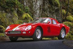 Ferrari GTO Fotografia Royalty Free