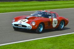 Ferrari 330 GTO Imagen de archivo libre de regalías