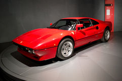 Ferrari GTO bei Museo Nazionale dell'Automobile Lizenzfreie Stockfotos