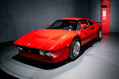 Ferrari GTO at Museo Nazionale dell'Automobile Royalty Free Stock Photos