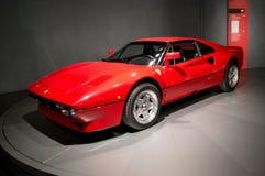 Ferrari GTO på Museo dell'Automobile Nazionale Royaltyfria Foton