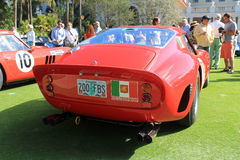 Ferrari gto racecar rear Stock Images