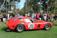 Ferrari 250 gto racecar strona Zdjęcia Royalty Free