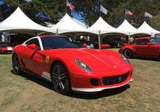 Ferrari 599 GTO Stock Photo