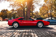 Ferrari 328 GTS Stock Photography
