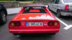 Ferrari 328 GTS - salón del automóvil retro de Rumania en Sinaia Foto de archivo libre de regalías