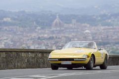 Ferrari 356 GTS4 Spider driven by Parmegiani Davide Stock Photography