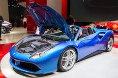 2016 Ferrari 488 GTS-Spin Royalty-vrije Stock Fotografie