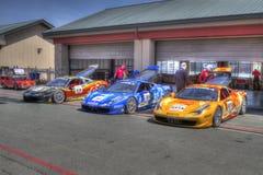 Ferrari-het Toevoerkanaal van uitdagingssonoma Stock Afbeelding