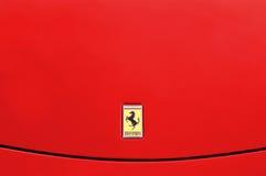 Ferrari-Hintergrund Stockfotos