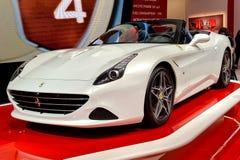 Ferrari im Genf 2014 Motorshow Stockbilder