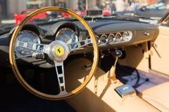 Ferrari instrumentbräda på skärm Arkivfoton