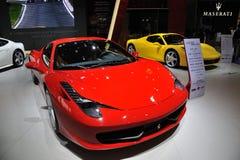 Ferrari 458 italia Fotografering för Bildbyråer