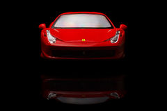 Ferrari 458 Italia Fotografie Stock Libere da Diritti