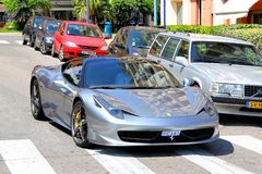 Ferrari 458 Italia Imagens de Stock Royalty Free