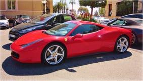 Ferrari 458 Italia Imágenes de archivo libres de regalías