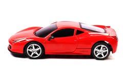 Ferrari 458 italia. Beautiful shot of ferrari 458 italia model on white background Stock Photo
