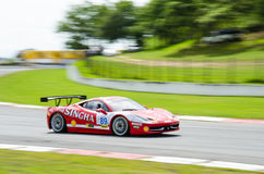 The Ferrari 458 Italia Challenge car Royalty Free Stock Image