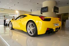 Ferrari 458 ITALIA Royalty Free Stock Photography