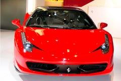ferrari italia för 458 bil sport Arkivbild