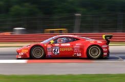 Ferrari 458 Italia GT3 Fotografering för Bildbyråer