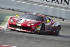 Ferrari 458 Italia GT3 Blancpain GT seriemästerskap Royaltyfri Bild