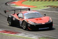 Ferrari 458 italia GT3 Italian GT 2015 at Monza Stock Images