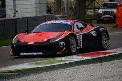 Ferrari 458 italia GT3 Italian GT 2015 at Monza Stock Image