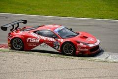 Ferrari 458 italia GT3 Italian GT 2015 at Monza Stock Photo
