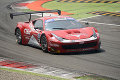 Ferrari 458 italia GT3 Italian GT 2015 at Monza Stock Photography