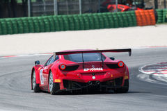FERRARI 458 ITALIA GT3 race car Royalty Free Stock Photos