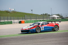 FERRARI 458 ITALIA GT3 RACE CAR Royalty Free Stock Photo
