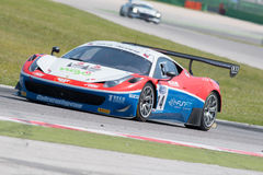 FERRARI 458 ITALIA GT3 RACE CAR Stock Photo