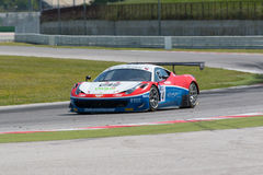 FERRARI 458 ITALIA GT3 RACE CAR Stock Photos