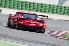 FERRARI 458 ITALIA GT3 race car Royalty Free Stock Image