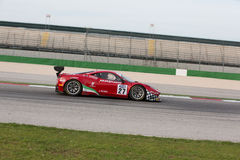 FERRARI 458 ITALIA GT3 race car Stock Images