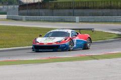 FERRARI 458 ITALIA GT3 RACERBIL Arkivfoton