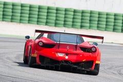 FERRARI 458 ITALIA GT3 RACERBIL Fotografering för Bildbyråer