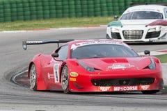 FERRARI 458 ITALIA GT3 RACERBIL Royaltyfria Foton