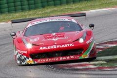 FERRARI 458 ITALIA GT3 RACERBIL Arkivfoto