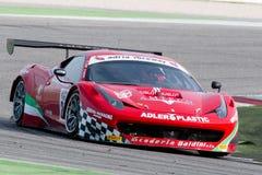 FERRARI 458 ITALIA GT3 RACERBIL Arkivbild