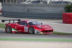 FERRARI 458 ITALIA GT3 RACERBIL Royaltyfria Bilder