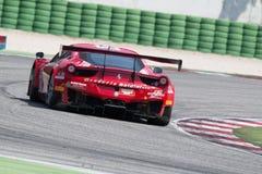 FERRARI 458 ITALIA GT3 RACERBIL Royaltyfri Bild